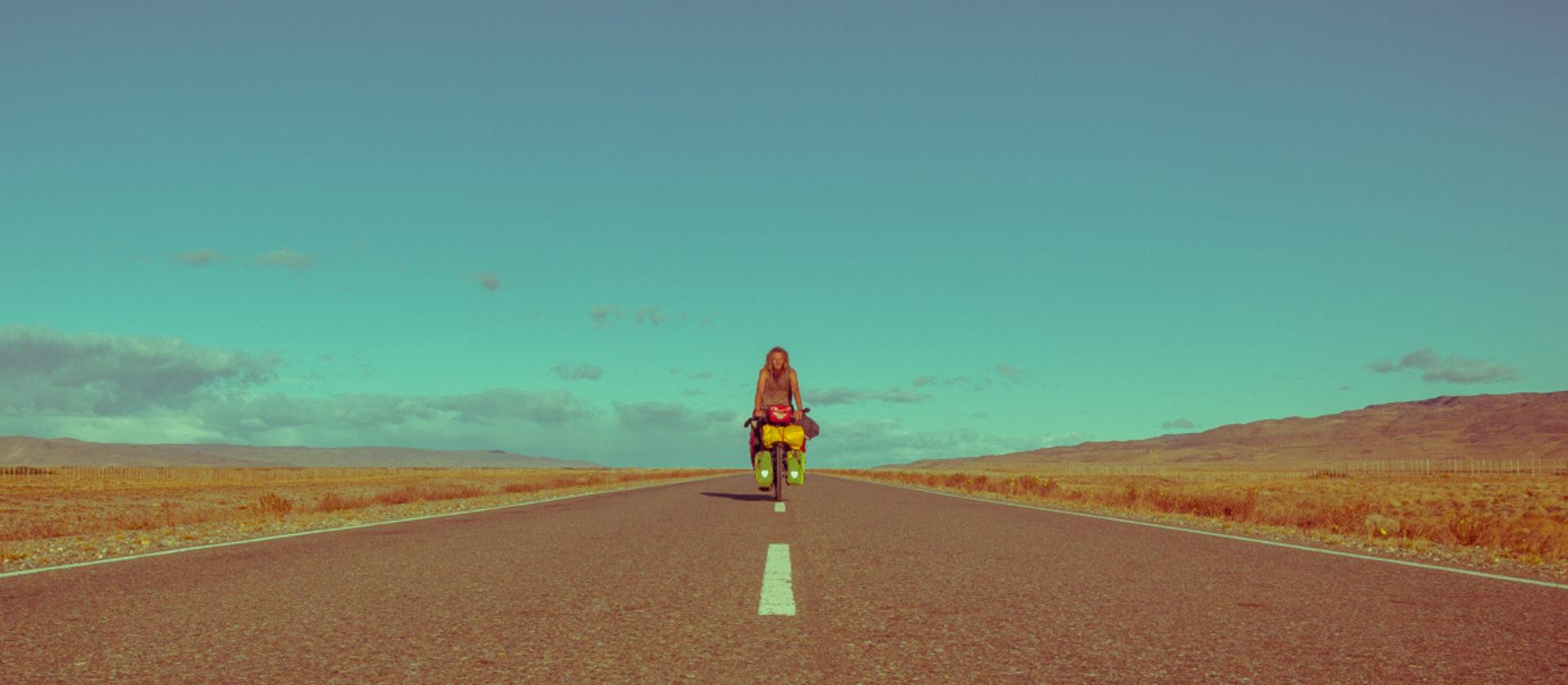 one man, one bike, one world